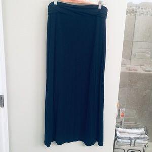 J.crew Navy Blue Maxi Skirt